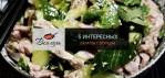 5 интересных салатов с огурцом