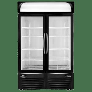 minus forty double door freezer
