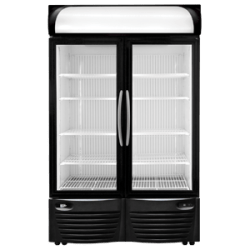 minus forty double door freezer