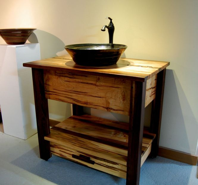 Custom Bathroom Vanities San Jose handmade wood bathroom vanity : brightpulse