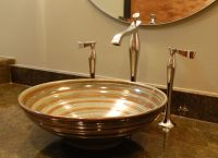 Pottery Sinks | Unique Bathroom Sinks | Small Bathroom ...