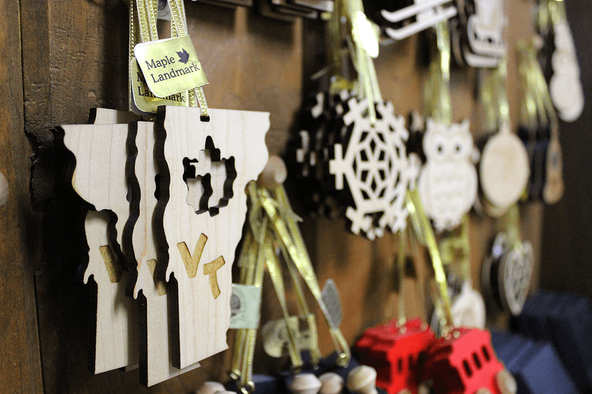 Image of ornaments in the store