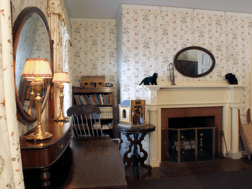 Image of children's bedroom at Hildene, The Lincoln Family Home