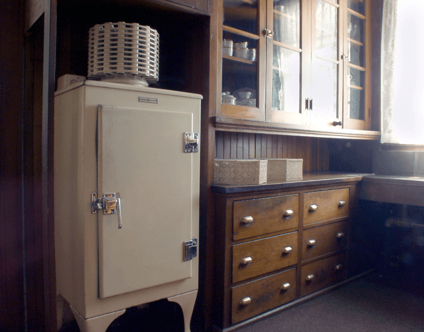 Image of the butler's pantry at Hildene, The Lincoln Family Home