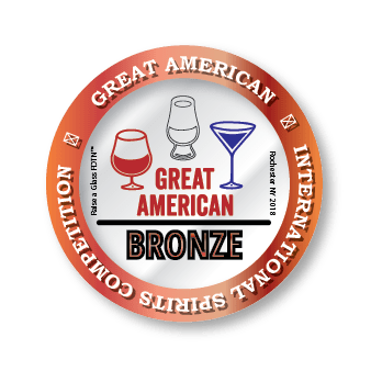 Image of award from International Spirit Competition - bronze for Wild Hart Distillery