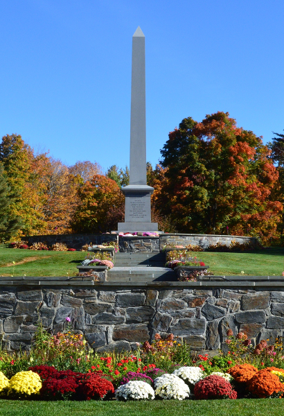 Image of the Joseph Smith Birthplace monument