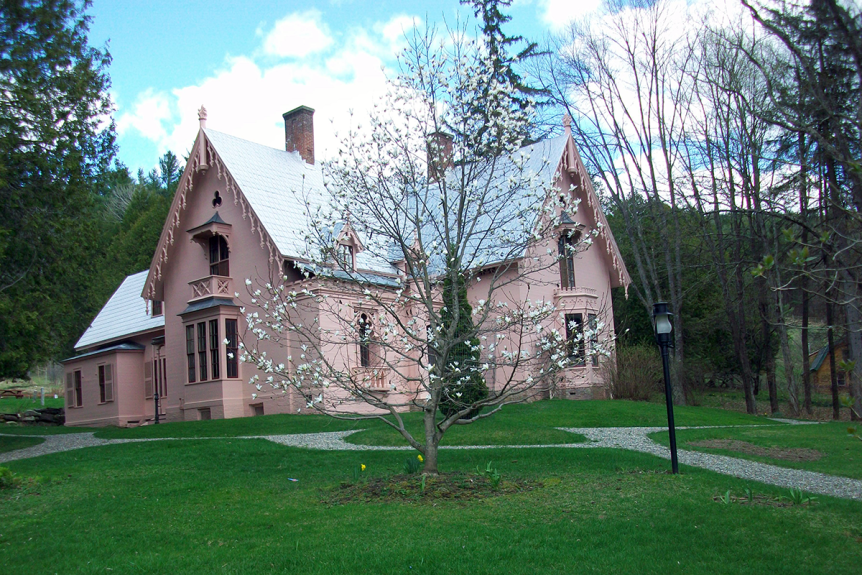 Image of the Morrill Homestead, a Vermont State Historic Site