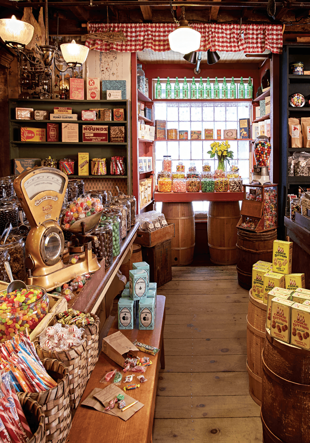 Image of candy in the Vermont Country Store