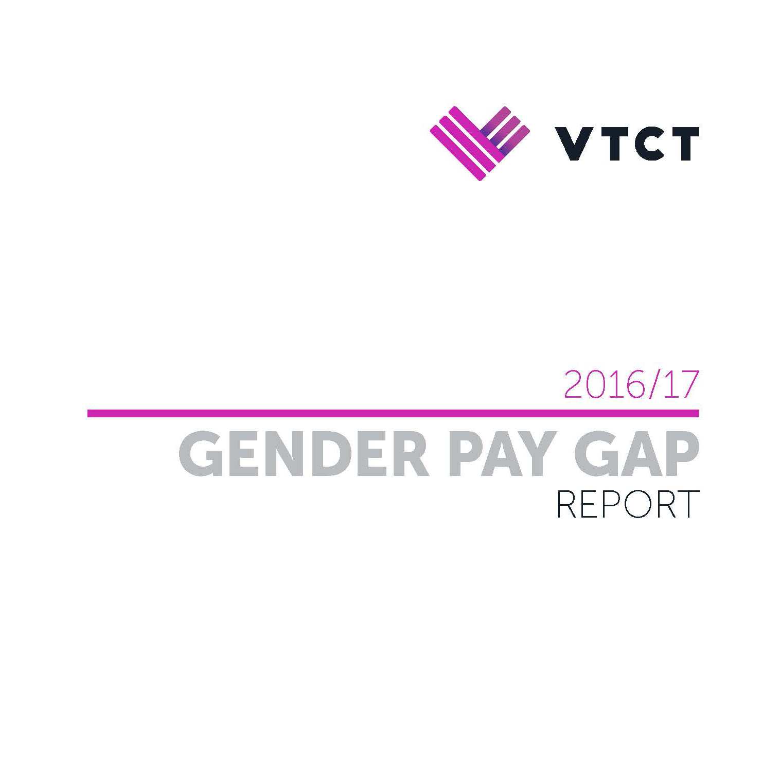 VTCT has released its gender pay gap report