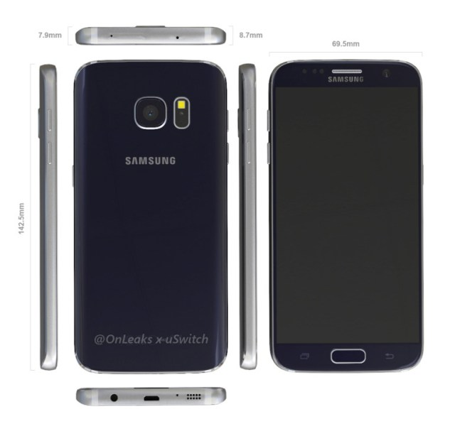 Galaxy-S7-leak-dimensions