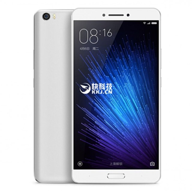 XiaoMi Max Official Renders