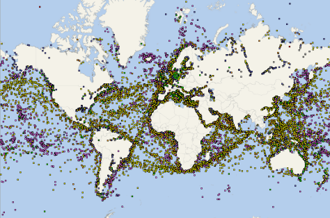 Global AIS Coverage