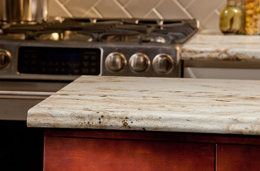 kitchen laminate wood and stainless steel island dimensions countertop - vt industries