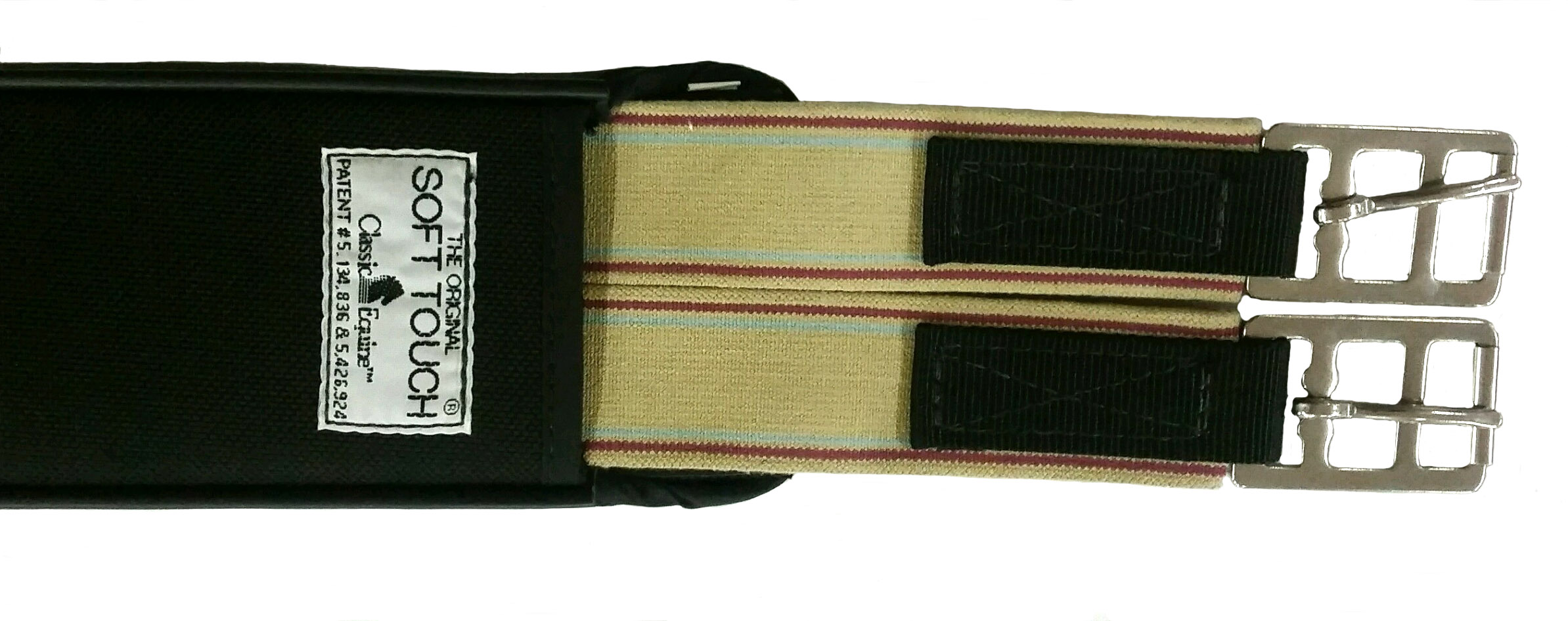 Closeout! Classic Equine Soft Touch Straight Jump Girth: VTO Saddlery