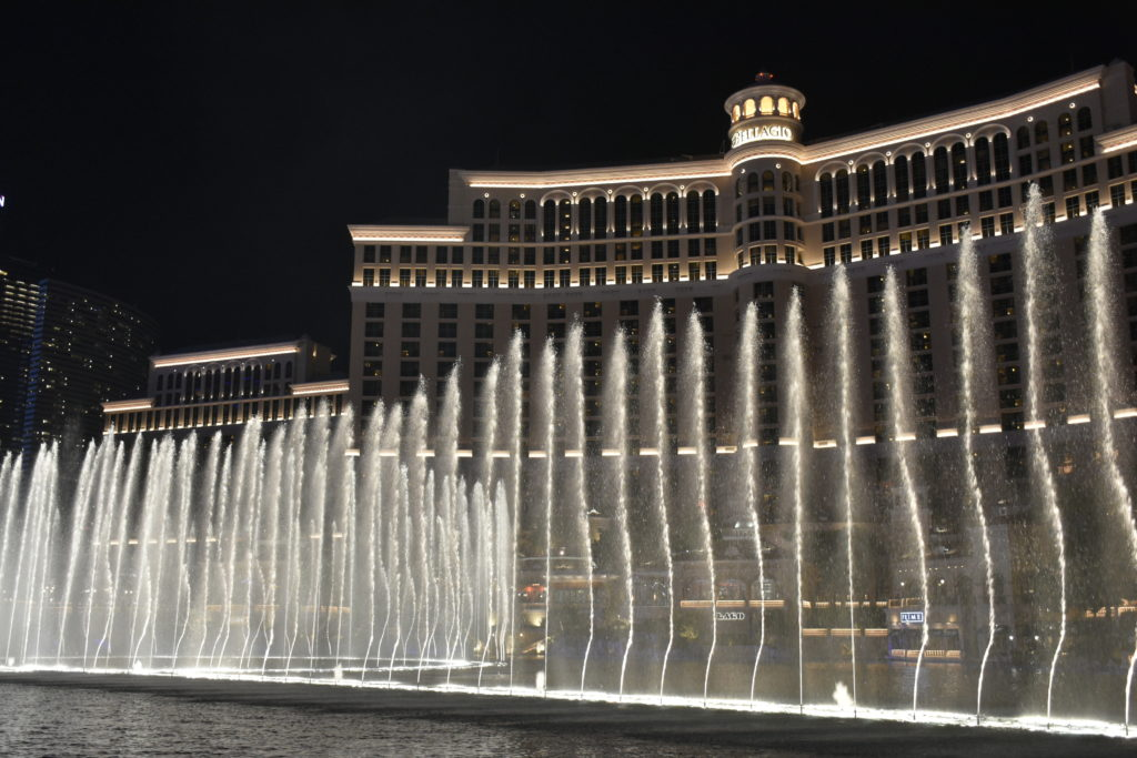 VTRAC Robotics at CES 2019 - VTRAC Robotics and The Bellagio