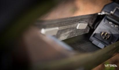 L'occasion d'inspecter le passage des câbles et la présence des mousses de calage.