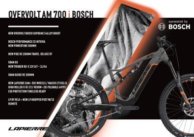 Lapierre Overvolt AM 700 i Bosch - 5499€