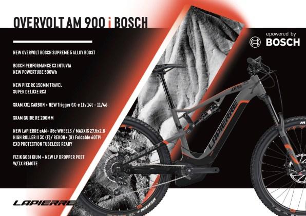 Lapierre Overvolt AM 900 i Bosch - 5999€