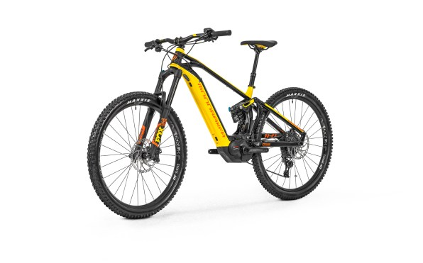"Mondraker Level R : Amortisseur Fox DHX2 Performance - Fourche Fox 36 Rhythm Grip Ebike 170mm - Roues DT Swiss H1900 29"" 30mm - Freins Shimano MT-520 - Transmission Sram GX1/NX1 - 25,7kg sans pédales"