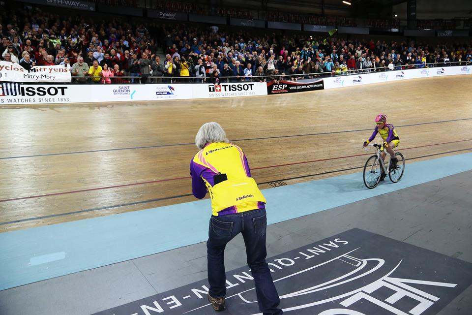 105 ans et toujours sur le vélo!! Reccord battu