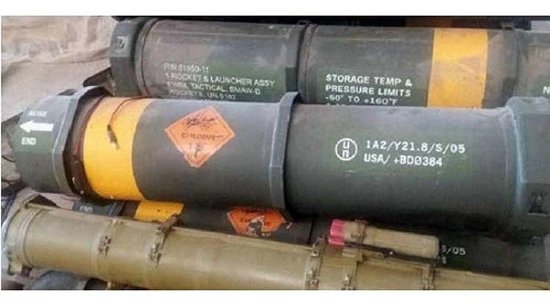 Descubren armamento y misiles de EE.UU. e Israel en locales de terroristas en Siria (+Fotos