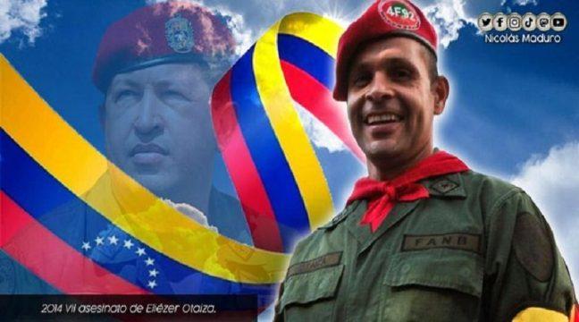 Venezuela recuerda 7 años del asesinato de Eliézer Otaiza compañero abnegado y dispuesto a defender las causas del pueblo