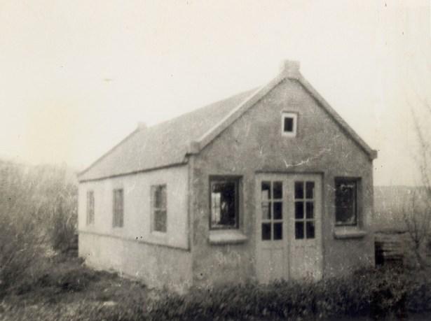 VTV Blijdorp tuinwinkel in jaren 30/40. Precieze lokatie en decennium onbekend.