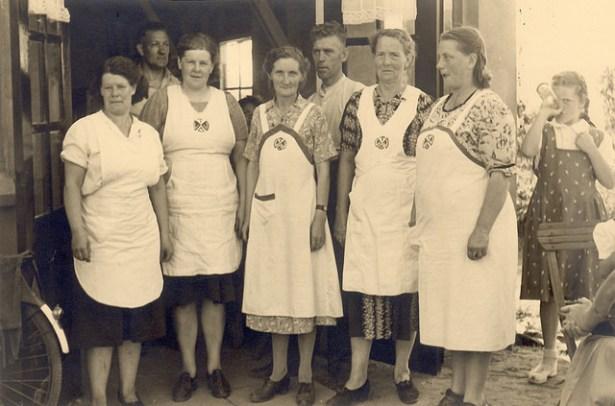 Damesclub jaren 50
