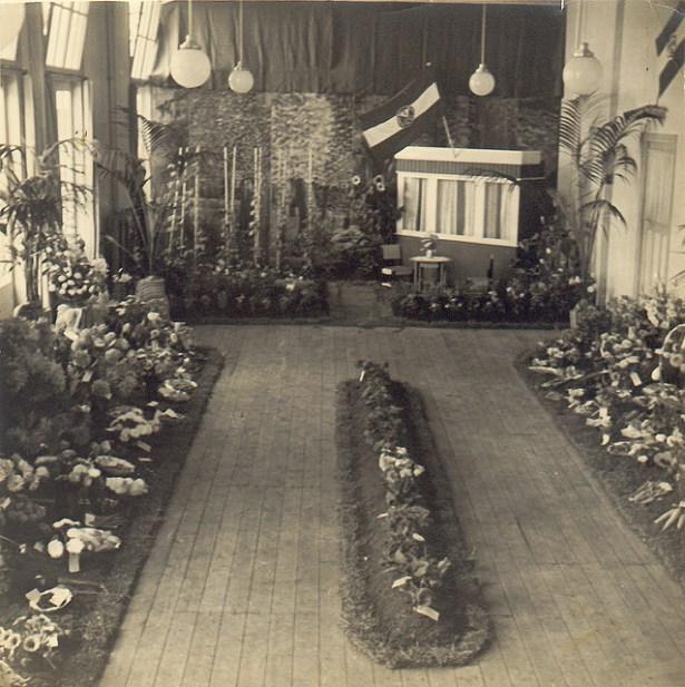 Eerste tentoonstelling Westervolkhuis 1939