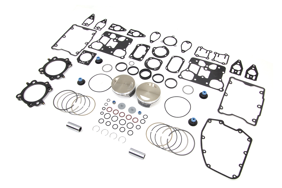 Wiseco Twin Cam 110 Big Bore Piston Kit,for Harley