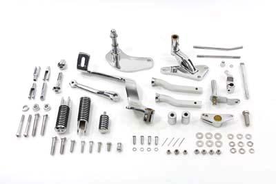 Chrome Forward Control Kit,for Harley Davidson motorcycles