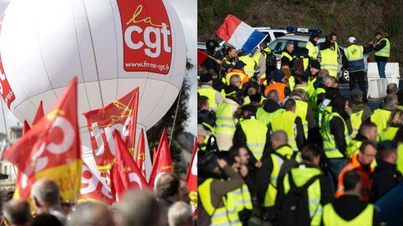 0d7387ccd4c ... l attitude des grandes centrales syndicales a été de scepticisme voire  de rejet. Condamnation sans équivoque du mouvement par la CFDT