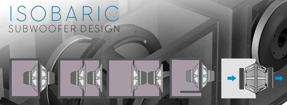 Isobaric Subwoofer Design Vue Audiotechnik