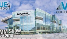 The VUE at NAMM 2018 – Press Release