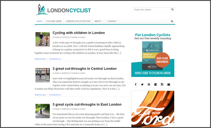 london-cyclist-cycling-blog-ranking
