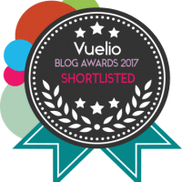 Blog Awards badge for shortlisters 2017