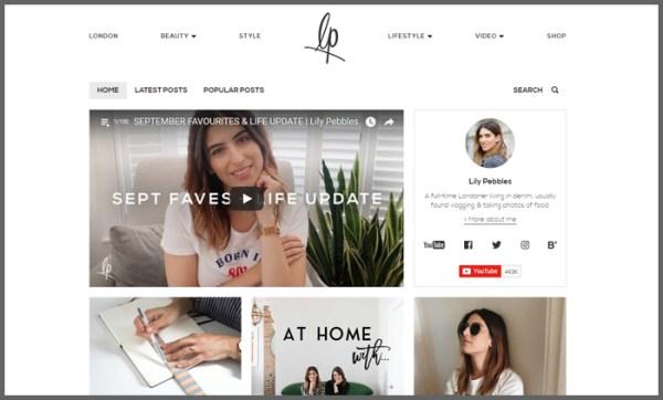 lifestyle bloggers Lifestyle Blogs UK Top 10 | Vuelio