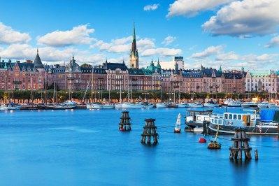 Paisaje de verano escénico de la ciudad vieja de Estocolmo, Suecia. Foto: copyright depositphotos/scanrail