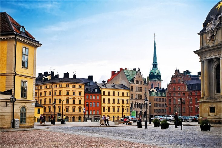 Vieja ciudad Estocolmo, Suecia, julio de 2011.Foto: copyright depositphotos/ nikascorpionka