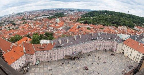 vista de la Plaza del castillo de Praga. Imagen: ©depositphotos.com/AndreyPopov