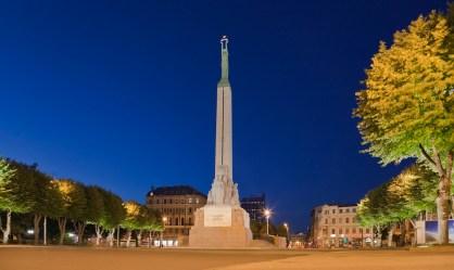 Monumento a la Libertad, Riga- Foto:Diego Delso , CC BY-SA 2.0