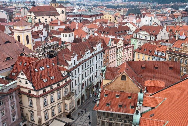 Casco antiguo en Praga. Imagen: Copyright: depositphotos/io_nia