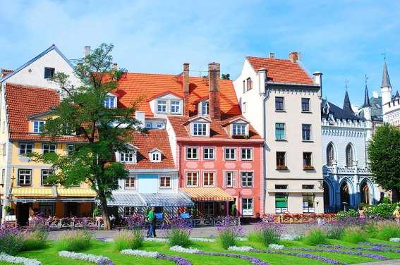 Casco antiguo de Riga, Letonia. Foto: copyright - depositphotos/kryvan