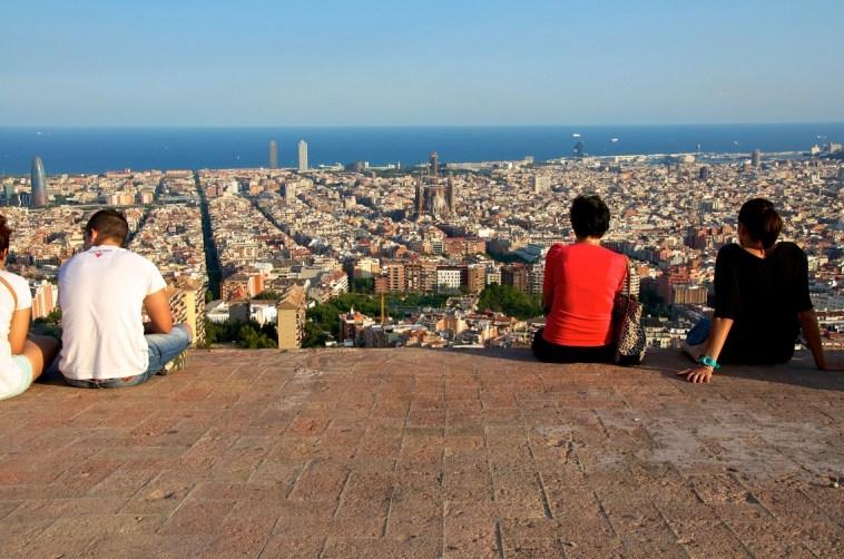 Iconos de Barcelona desde el Turó de la Rovira. Imagen: ©depositphotos.com/kslfoto