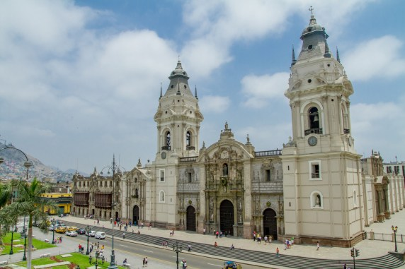 Catedral, Lima, Perú.