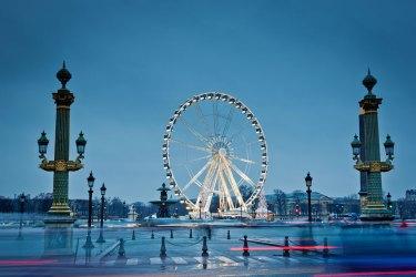 Place Concorde, puente y noria Foto: ©depositphotos/photoboom