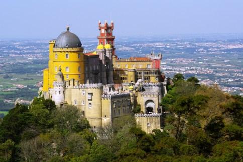 La estampa romántica del Palacio da Pena