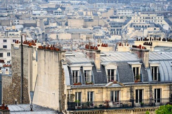 Tejados de París Foto: ©depositphotos/Irinart
