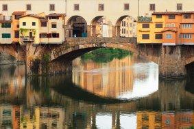 Detalle del Ponte Vecchio