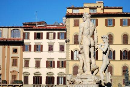Plaza de la Señoría, Florencia.